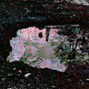 Reflective Skylight On A Small Pond Of Water # 1 Poster