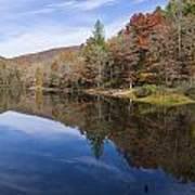 Reflection On Lake Winfield Scott 2 Poster
