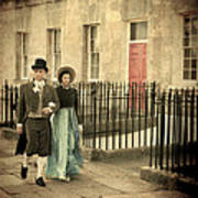 Regency Couple Poster