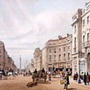 Regent Street, Looking Towards The Duke Poster