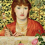 Regina Cordium Alice Wilding, 1866 Poster