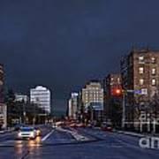 Regina Street At Night Poster