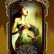 Rehoboth Beach Jazz Fest 2007 Poster