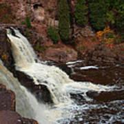 Relaxing Autumn Falls Poster