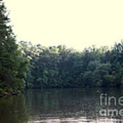 Relaxing Lake Landscape Poster