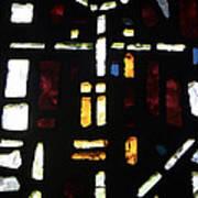 Religious Symbols In Glass Poster
