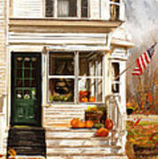 Remembering When- Porches Art Poster