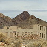 Remnants Of The Rhyolite School Poster
