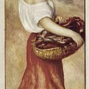 Renoir, Pierre-auguste 1841-1919. Girl Poster by Everett