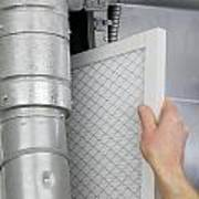Replace Home Air Filter Poster