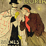 Reproduction Of A Poster Advertising Mothu And Doria In Impressionist Scenes Poster