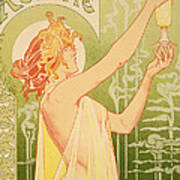 Reproduction Of A Poster Advertising 'robette Absinthe' Poster