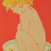 Reproduction Of A Poster Advertising Starlight Soap Poster by Henri Meunier