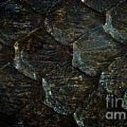 Reptile Skin Texture Poster