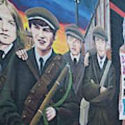 Republican Murals Against British Rule Poster