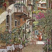 Rethimnon-crete-greece Poster by Guido Borelli
