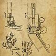 Revolving Gun Colt - Patented On 1836 Poster