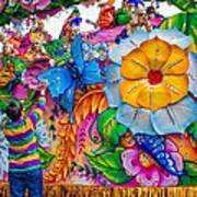 Rex Mardi Gras Parade Poster