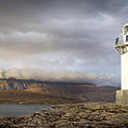 Rhue Lighthouse Poster