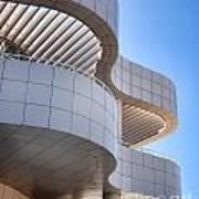 Richard Meier's Getty Architecture I Poster