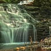 Ricketts Glen Shawnee Waterfall Poster