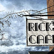 Ricks Cafe Poster