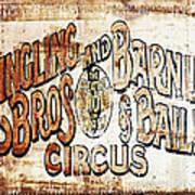 Ringling Brothers And Barnum And Bailey Circus Poster