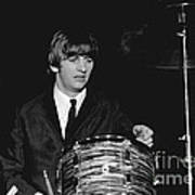 Ringo Starr, Beatles Concert, 1964 Poster