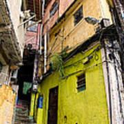 Rio De Janeiro Brazil -  Favela Housing Poster