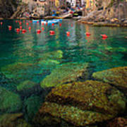 Riomaggiore Bay Poster