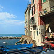 Riomaggiore - Cinque Terre Poster
