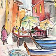 Riomaggiore In Italy 01 Poster