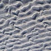 Ripples In The Sand And Surf Poster