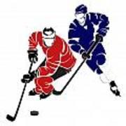 Rivalries Senators And Maple Leafs Poster