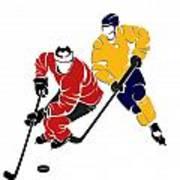 Rivalries Senators And Sabres Poster