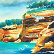 River Cliffs 2 Poster