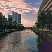 River Through Baltimore Poster
