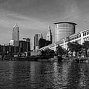 River View Of Cleveland Ohio Poster