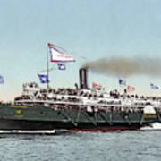 Riverboat, C1900 Poster