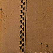 Riveted Plates   #1612 Poster