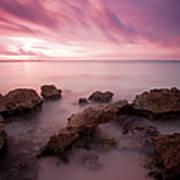 Riviera Maya Sunrise Poster