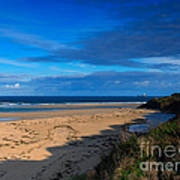 Riviere Sands Cornwall Poster