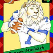 Roarer Staubach Poster