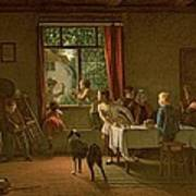 Roast Pig, 1862 Poster
