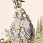 Robe De La Circassienne, Engraved Poster