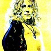 Robert Plant Of Led Zeppelin   Poster