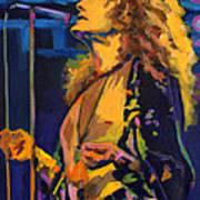 Robert Plant. Kashmir Poster