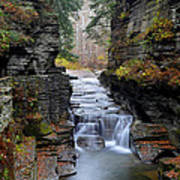 Robert Treman State Park Poster by Frozen in Time Fine Art Photography