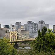 Roberto Clemente Bridge Pittsburgh Pa Poster