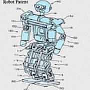 Robot Patent Poster